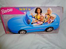 Barbie doll family car barbie family car barbie car for Motorized barbie convertible car