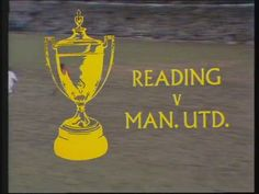 ITV's coverage of the 1970-71 Watney Cup match between Reading and Man United (first 10 mins).