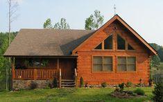 Log Home Exteriors - Log Homes of America