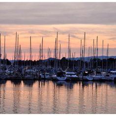 Sunset in Emeryville
