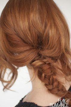 Don't let your layers get in the way of your braids. Here are my tips for braiding with layers