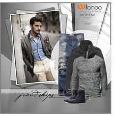 Milanoo by monmondefou on Polyvore featuring ファッション