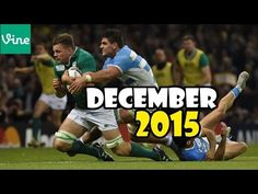 Best Rugby Vines Compilation ► December 2015 Week 2 [Tries,tackles,hits] - YouTube