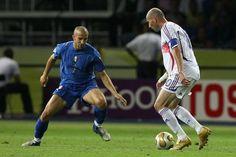 Two legends: Del Piero and Zidane