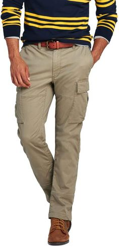 Try our Men's Slim Fit Comfort First Cargo Pants at Lands' End. Cargo Pants, Khaki Pants, Tall Pants, Mens Big And Tall, Slim Man, Lands End, Thighs, Street Style, Mens Fashion