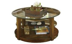 Clark Copper Coffee Table Coffee Table Geometric Oak And Copper