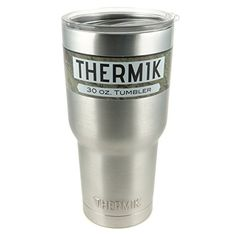 Thermik 30 oz Vacuum Insulated Stainless Steel Tumbler with Straw Compatible Lid