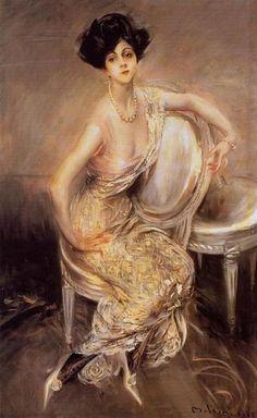 Rita de Acosta Lydig by Giovanni Boldini, 1911.