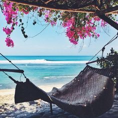 Just lie down and listen to those waves.......