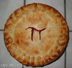 Pi Day! Too bad we have some number problems here.  Thats why its on Cake Wrecks!