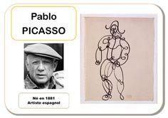 Picasso - Portrait d'artiste Plus Pablo Picasso, Art Lessons For Kids, Art For Kids, Art Montessori, Art Worksheets, Ecole Art, Plastic Art, High Art, Klimt