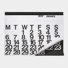 2017 Stendig Poster Calendar (3ft Modern Calendar)