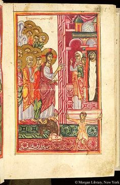 Gospel book, MS M.749 fol. 6r - Images from Medieval and Renaissance Manuscripts - The Morgan Library & Museum