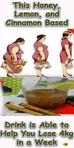 This Honey, Lemon, and Cinnamon Based Drink is Able to Help You Lose (4kg in a Week) – RECIPE
