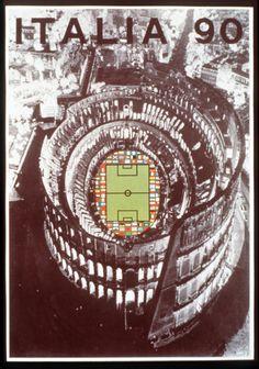 world cup 1990 poster - Google zoeken
