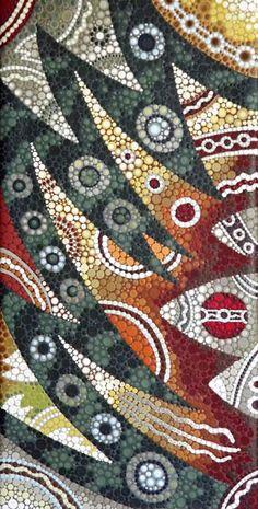 Sydney Opera House Australian Aboriginal dot style Painting on Canvas 88 x 45 cm | eBay