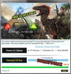 ARK Survival Evolved CD Key Hack
