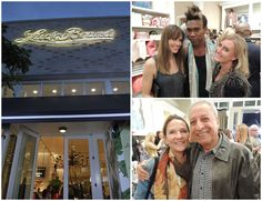 Quite the Swank gathering at Lucky Brand Beverly Hills. (http://www.apparelnews.net/news/2013/oct/30/hollywood-fashion-stars-party-lucky-brand-flagship/) #Lucky #Brand #Beverly #Hills #Boutique #Opening #Party #Hilary #Swank #ApparelNews