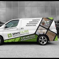 Van Wrap Design Car, truck or van wrap contest car Van Signage, Shop Signage, Car Stickers, Car Decals, Branding, Design Autos, Vehicle Signage, Van Wrap, Van Design