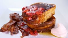 Clinton Kelly's Strawberry French Toast