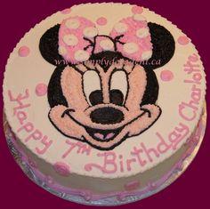 - Minnie Mouse Birthday Cake
