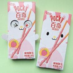 Easter Bunny strawberry Pocky - Tofu Cute