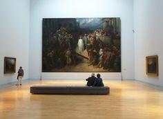 Le Christ quittant le prétoire. Gustave Doré.