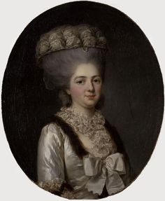 Madame Victoire de France, (1733-1799),seventh legitimate child of Louis XV, by Anne Vallayer-Coster (Versailles)
