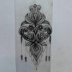 tatuagens de rendas - Pesquisa Google