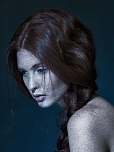 Photography Portrait - Red head and freckles Foto Portrait, Portrait Photography, Eyes Closed, Model Tips, 3 4 Face, Freckle Face, We Are The World, Belle Photo, Red Hair