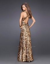 Shop La Femme evening gowns and prom dresses at Simply Dresses. Designer prom gowns, celebrity dresses, graduation and homecoming party dresses. Leopard Fashion, Animal Print Fashion, Fashion Prints, Estilo Fashion, Fashion Mode, Style Work, Style Feminin, Evening Dresses, Prom Dresses