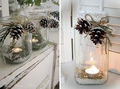 iluminación y decoracion navideña casera DIY