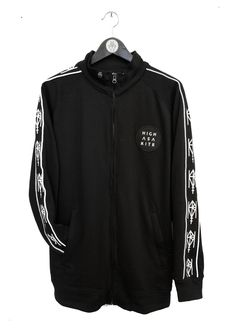 Track jacket, merch from the Norwegian band Highasakite. Made by: Black Rat Clothing - Oslo. Designer Siri Sveen Haaland.
