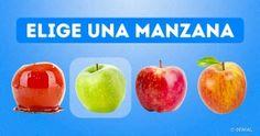 Elige una manzana ydescubre aqué sabe tuvida
