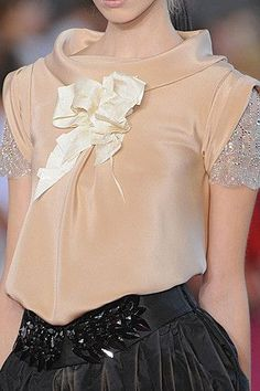 Christian Lacroix Fashion Show Details