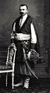 Joseph Lukich Isarlov {Isarlishvich) at the Winter Palace Masquerade Costume ball, 1903.