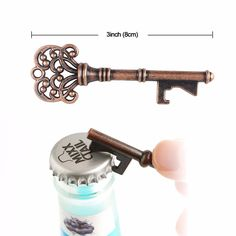 1Piece Vintage Metal Bottle Beer Opener Keychain Wedding Favors and Gift for Guest Wedding Souvenirs Event Party Supplies //Price: $7.95 & FREE Shipping //     hollidayssupplies