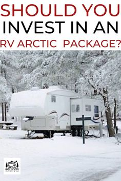 Ever wondered if you should invest in an RV Artic Package? In our latest blog post we share what's included in the arctic package so you can make an informed decision and prep your RV for the chilly winter months.