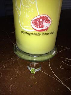 Sweet sweet Pomegranate Lemonade. Like if you want a glass! Err, I mean a candle!