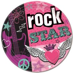 Girl Rock Star Party Supplies Napkins Plates Cups Table Covers | eBay