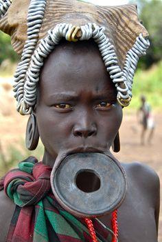 Ethiopia-Omo valley-Mursi tribe
