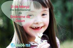 """""""O amor não se importa com o número de cromossomos"""".  #DiaInternacionalDaSíndromeDeDown #SíndromeDoAmor"""