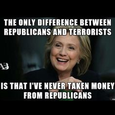 Bet she has! She takes money from any & every one.