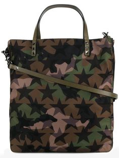 ed3689766a6ed Shop Valentino Valentino Garavani  Camustars  tote. Leather Handle