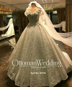 Gelinlik Modeller The Dress, Formal Dresses, Wedding Dresses, Ball Gowns, Ottoman, Collection, Fashion, Bridal Dresses, Fitted Prom Dresses