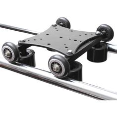 RailDolly Large Camera Slider from RigWheels ideal for heavy-large size cameras for a Strong - Ridgid - Solid base Big Camera, Camera Rig, Camera Gear, Camera Slider, Camera Equipment, Vlogging Equipment, Metal Bending, Skate Wheels, Backyard Projects