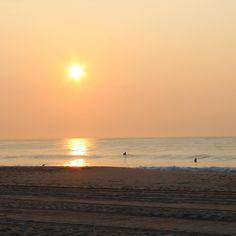 dawn patrol  #ocmd #chesapeakeisland #surf #rightcoast #sunrise #nofilter  PC EHenderson