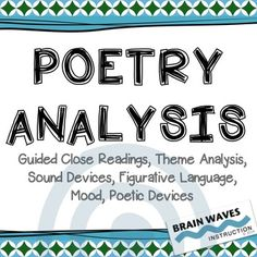 poetry analysis response sheets for 7 poems printable activities answer key from presto plans. Black Bedroom Furniture Sets. Home Design Ideas