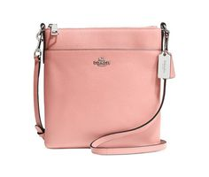 Coach North/South Swingpack In Embossed Textured Leather