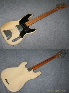 1955 Fender Precision Vintage Bass Guitar Gary's Classic Guitars $15,000 a bargain buy